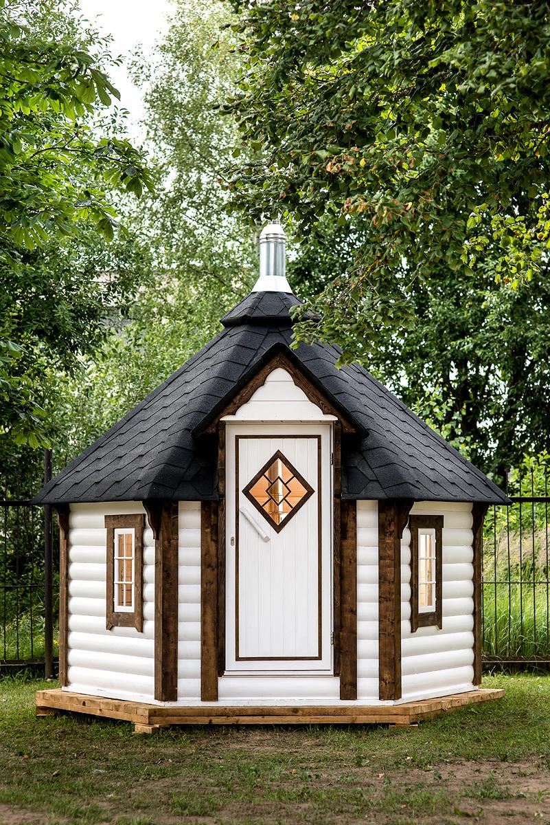 Sauna d 39 ext rieur finlandais ce kota 7m2 insolite vous for Sauna finlandais exterieur