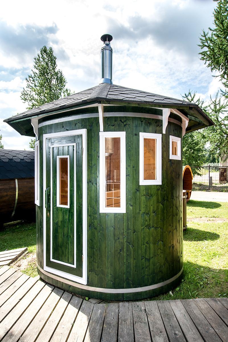 Sauna D Extérieur sauna d'extérieur, ce sauna vertical insolite sera idéalement placé