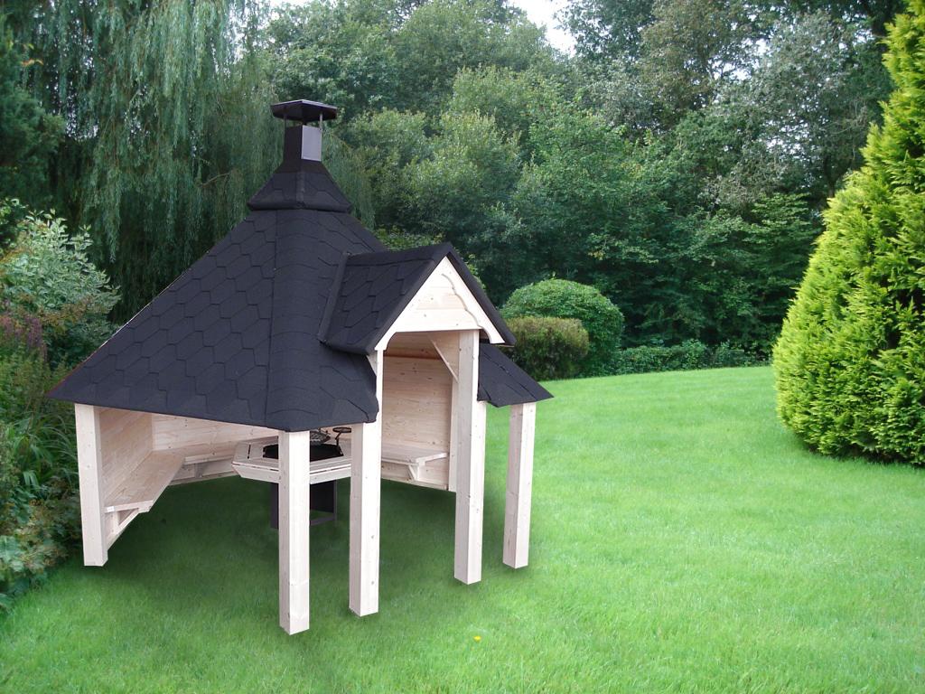 le kota finlandais 9 2m2 ouvert avec barbecue ou vide un chalet insolite dans votre jardin. Black Bedroom Furniture Sets. Home Design Ideas